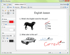 IDroo Whiteboard for Skype