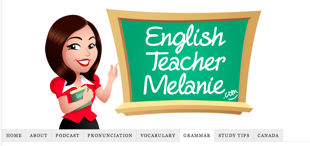 Grammar - English Teacher Melanie