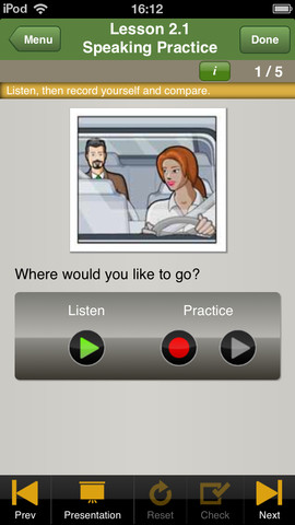 LearnEnglish for Taxi Drivers app