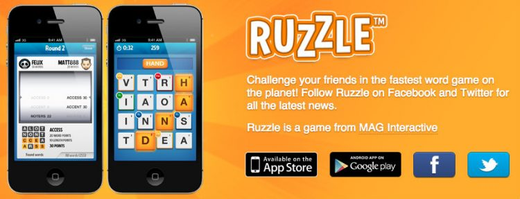 Ruzzle Esl game - MyEnglishTeacher.eu