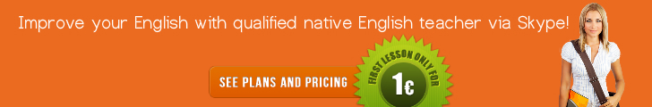 Learn English with native English teacher