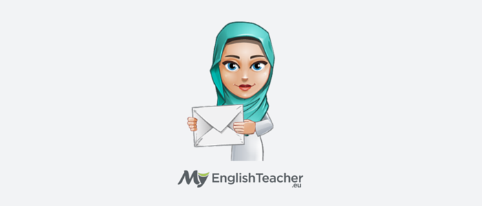 How to write an email to my english teacher?