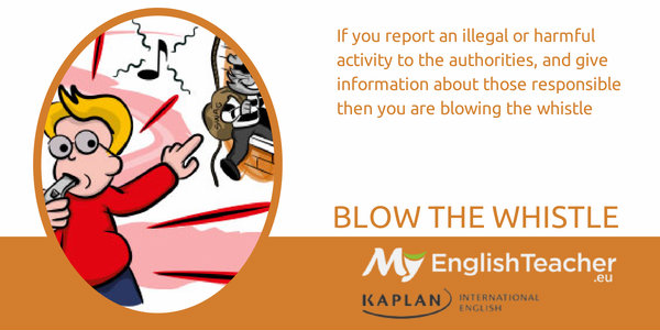 blow the whistle - music idioms
