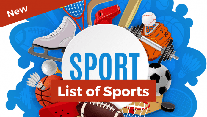 List of Sports names of sports