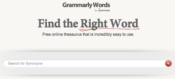 Grammarly Words - Dictionary - Thesaurus