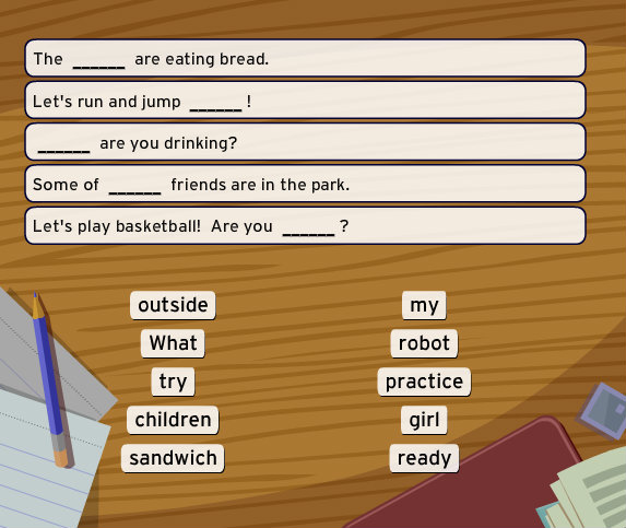 BrainPOP ESL - Fill In The Blank game - MyEnglishTeacher.eu