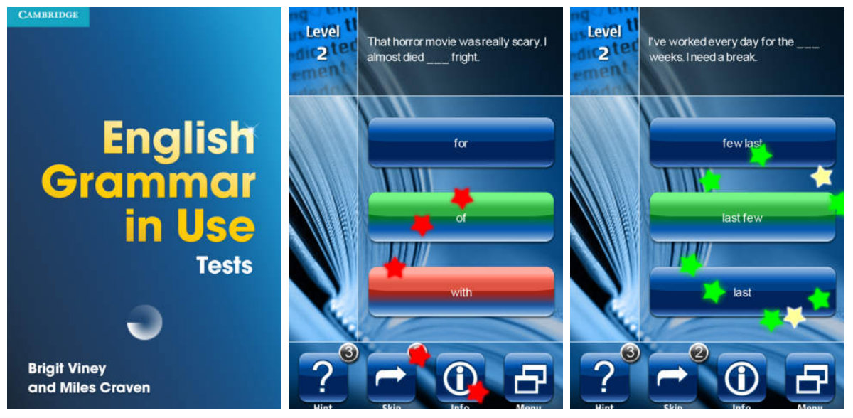 English Grammar in use iphone app