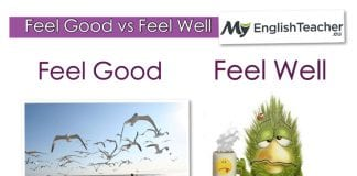feel good vs feel well