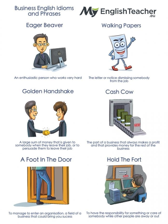 Business English Idioms and Phrases in Use