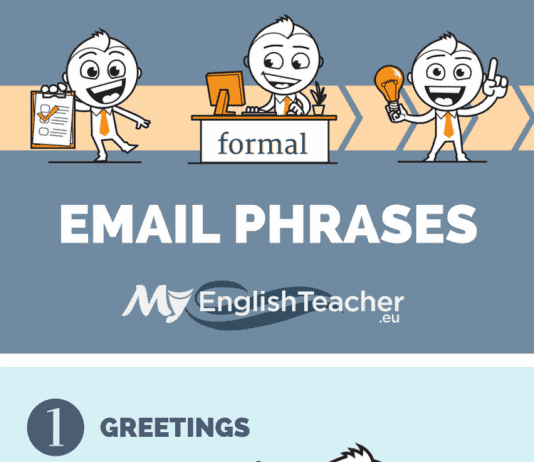 formal email phrases