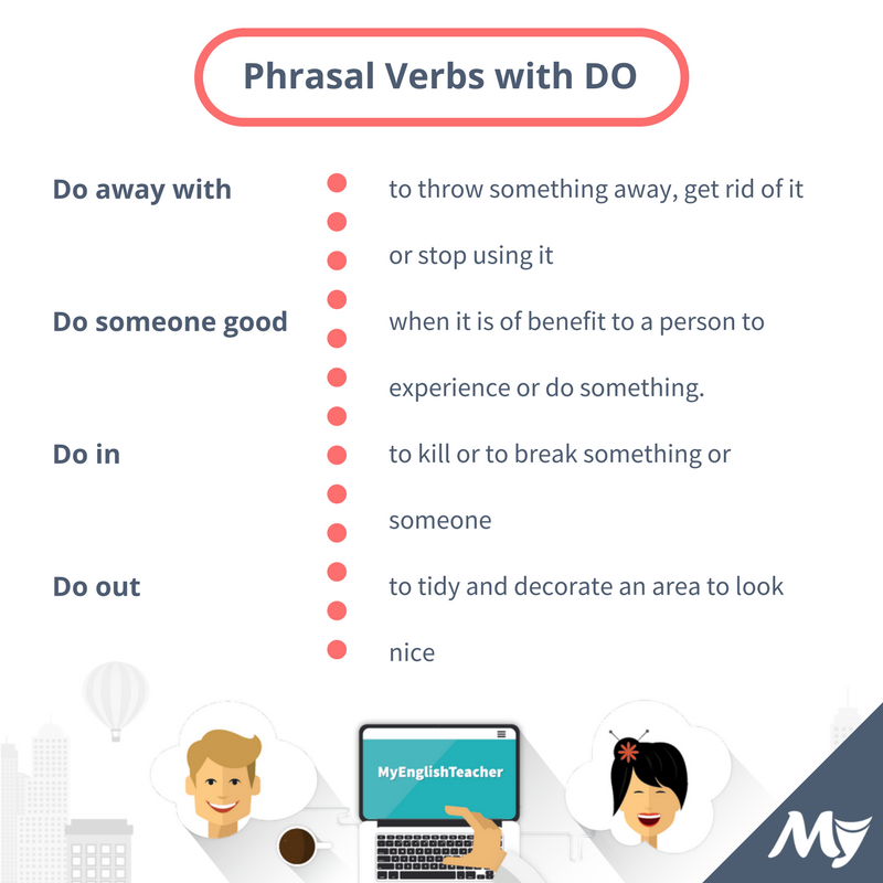 phrasal verbs with do