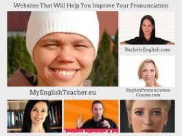 Websites That Will Help You Improve Your Pronunciation