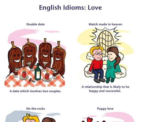 Idioms about Love