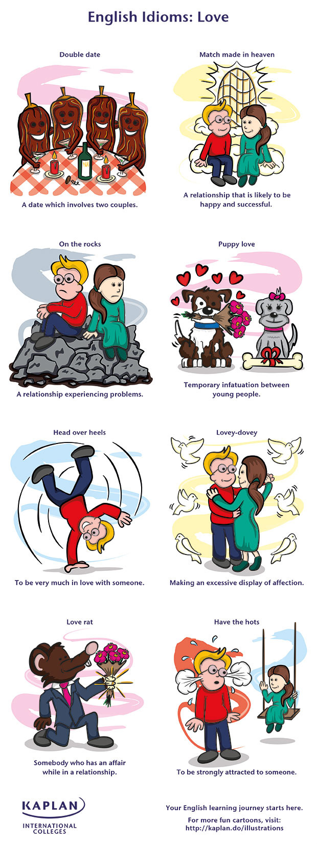 25 Fantastic Idioms About Love And Their Meanings
