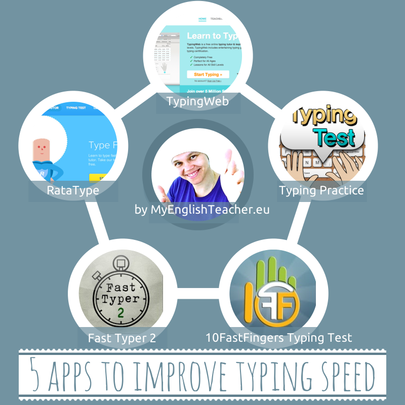5 apps to improve typing speed