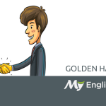 golden handshake idiom
