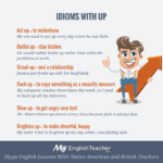 idioms with up