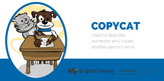 copycat english idiom