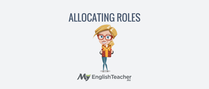 allocating roles - business english phrases for meetings