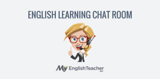english learning chat room