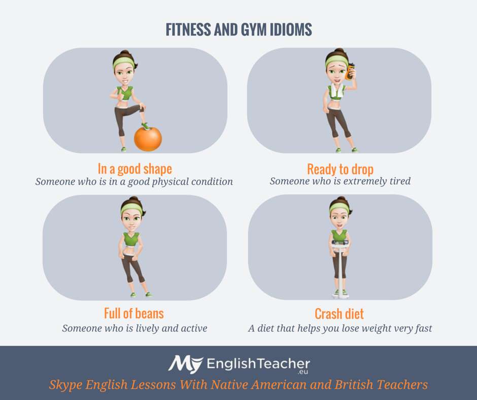 fitness and gym idioms