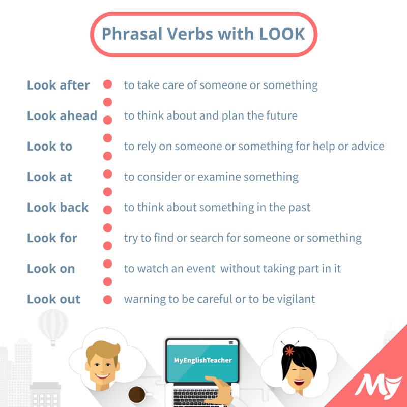 24 Simple Phrasal Verbs with Look