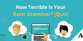 How Terrible Is Your Basic Grammar? [Quiz]