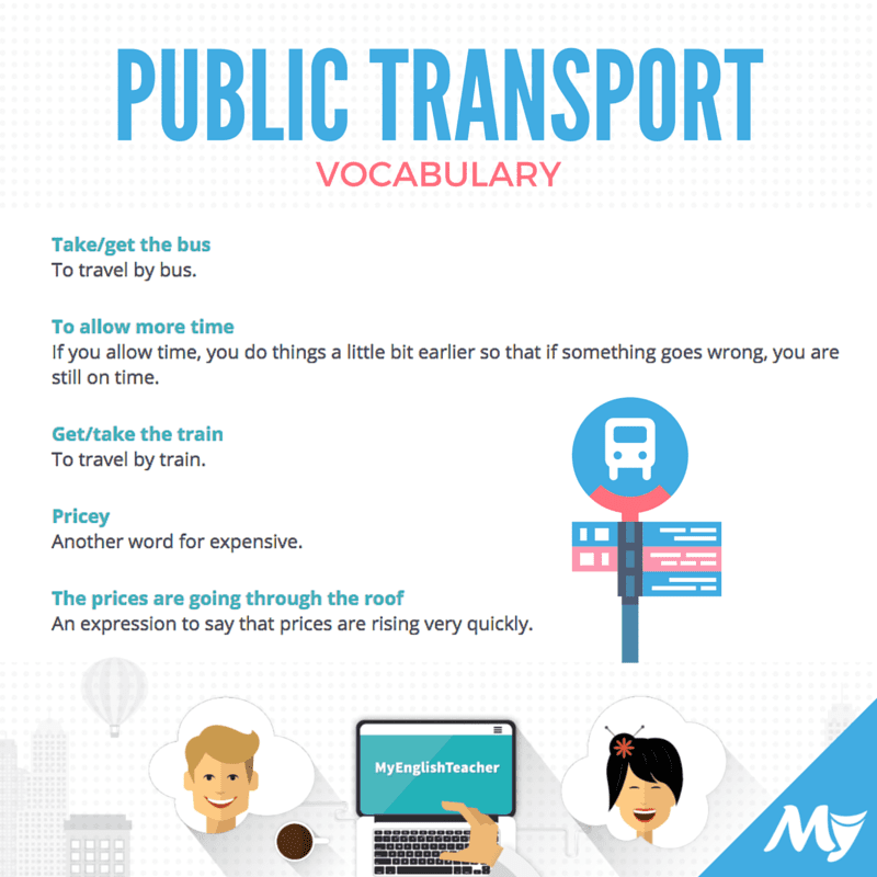 Vocabulary Related To Public Transport Myenglishteacher Eu Blog