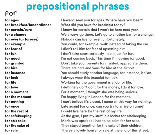 prepositional-phrases-with-for-and-from