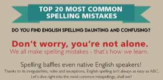 common spelling mistakes words