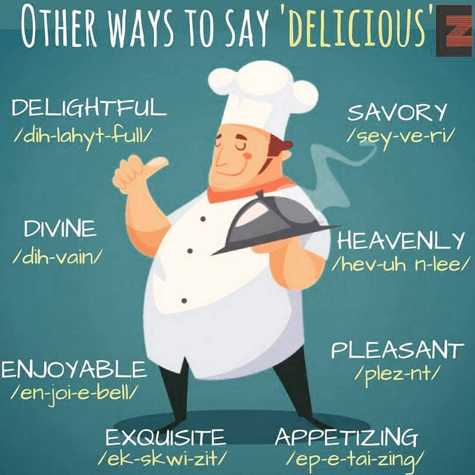 Another Way To Say Food And Drink