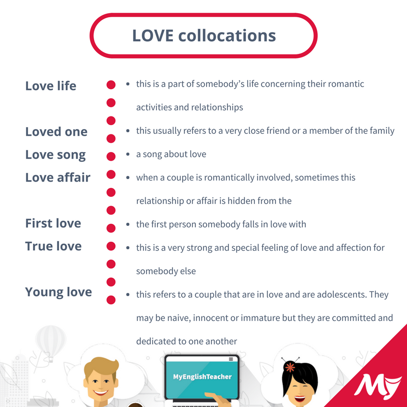 love collocations