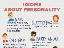 personalities - nerd - chatterbox - bright spark - happy camper