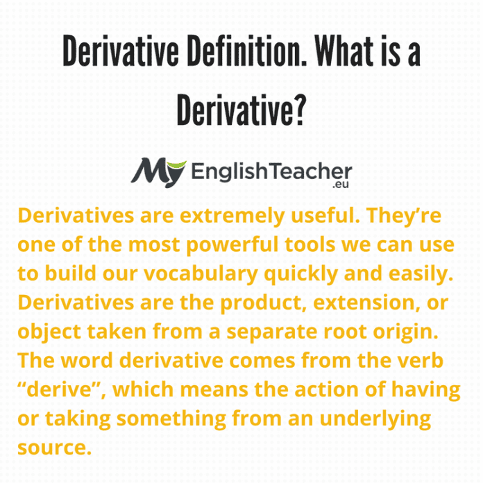 Derivative Definition
