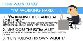 idioms for hard work