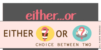 either or, neither nor