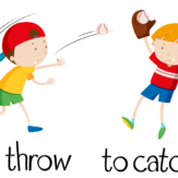to throw to catch