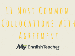 11 Most Common Collocations with Agreement