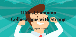 11 Most Common Collocations with Strong