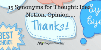 15 Synonyms for Thought Idea, Notion, Opinion,...