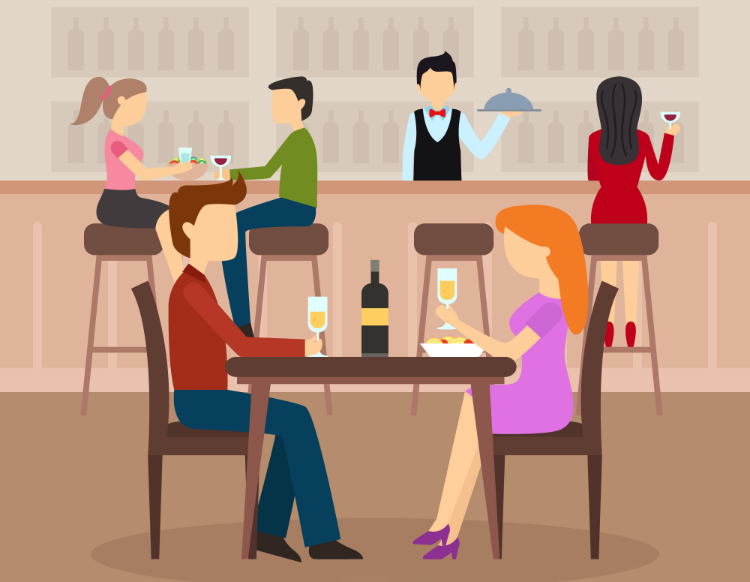 Table Reservation at a Restaurant Vocabulary  11 Words You