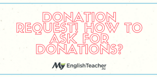Donation Request! How to ask for Donations