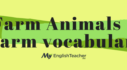 Farm Animals Farm vocabulary