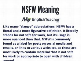 NSFW Meaning