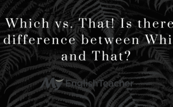 Which vs. That