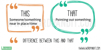 this or that difference