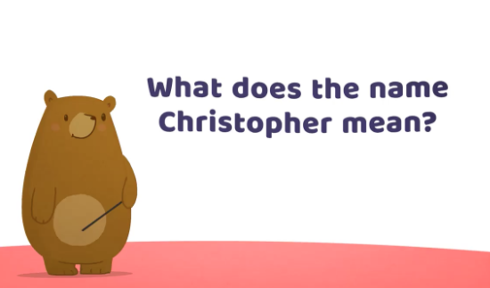 what does the name christopher mean