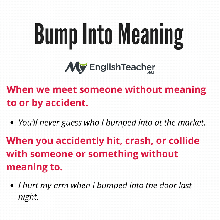 Bump Into Meaning