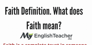Faith Definition