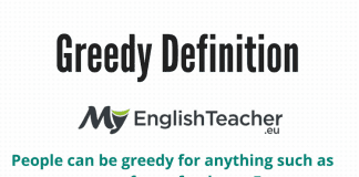 Greedy Definition